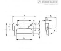 Складные ручки MPE-CLEAN – Чертеж 1