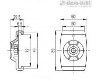 Зажимы направляющей MPG-2S – Чертеж 1