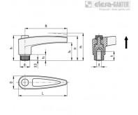 Регулируемые ручки MRT-SST – Чертеж 1