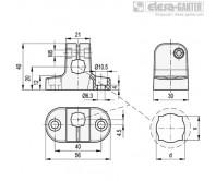 Соединительные зажимы MSX-B – Чертеж 1