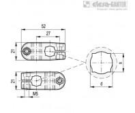 Соединительные зажимы MSX-C – Чертеж 1