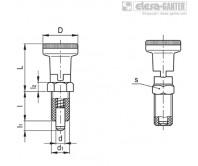 Штифты стопорные (фиксаторы) PMT.101-A – Чертеж 1