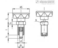 Штифты стопорные (фиксаторы) PMT.110-A – Чертеж 1