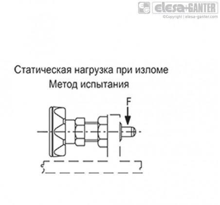 Штифты стопорные (фиксаторы) PMT.110-SST-A – Чертеж 2