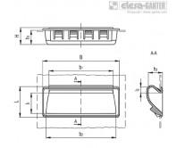 Ручки-купе PR-PF-CLEAN – Чертеж 1