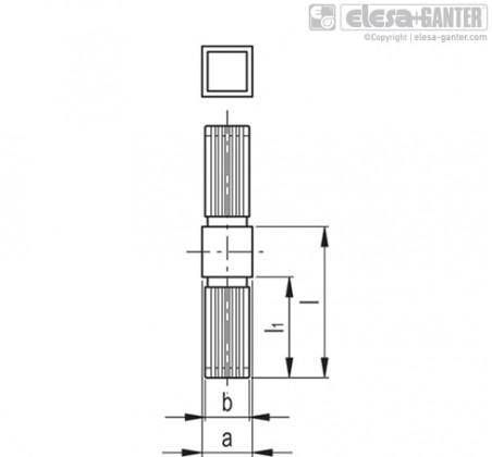STC-1A-2W Одномерный двухпортовый соединитель