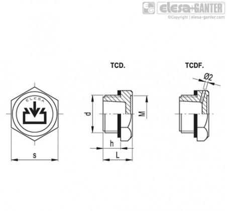 TCD. – Чертеж 1