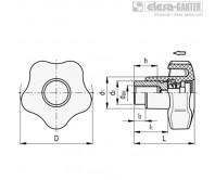 Лепестковые ручки с функцией защиты VCTS-Z – Чертеж 1