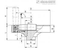 Монолитные маховики VDN.FP+IR – Чертеж 1