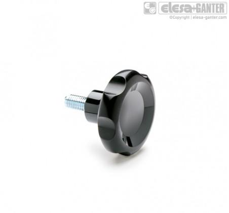 Лепестковые поворотные ручки VL.155-p – фото 1
