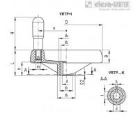 Маховики со спицами VRTP+I – Чертеж 1
