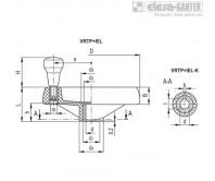 Маховики со спицами VRTP+IEL – Чертеж 1