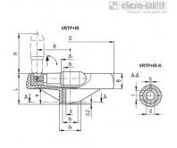 Маховики со спицами VRTP+IR – Чертеж 1