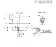 Маховики монолитные со спицами VRTP-P+I-SST – Чертеж 1