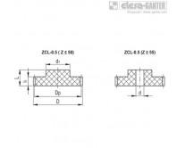 Прямозубые передачи ZCL-0.5 – Чертеж 1